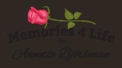 Logo Memories 4 Life By Annette Björkman