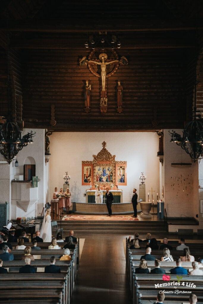Bröllop i Masthuggskyrkan och fest på Donsö 8
