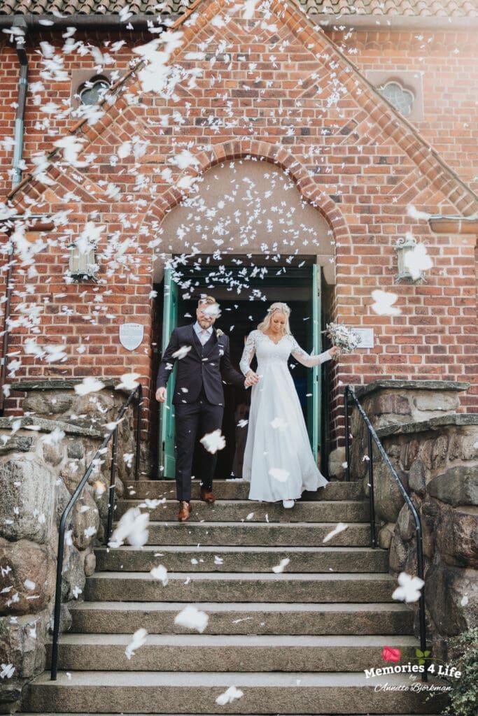 Bröllop i Masthuggskyrkan och fest på Donsö 10