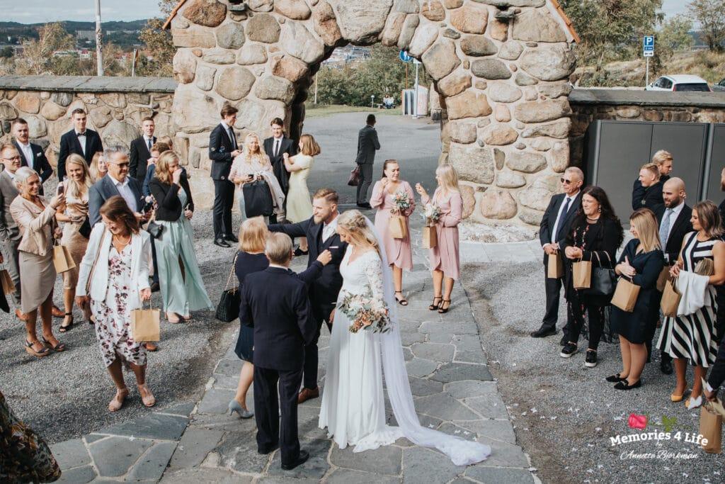 Bröllop i Masthuggskyrkan och fest på Donsö 12