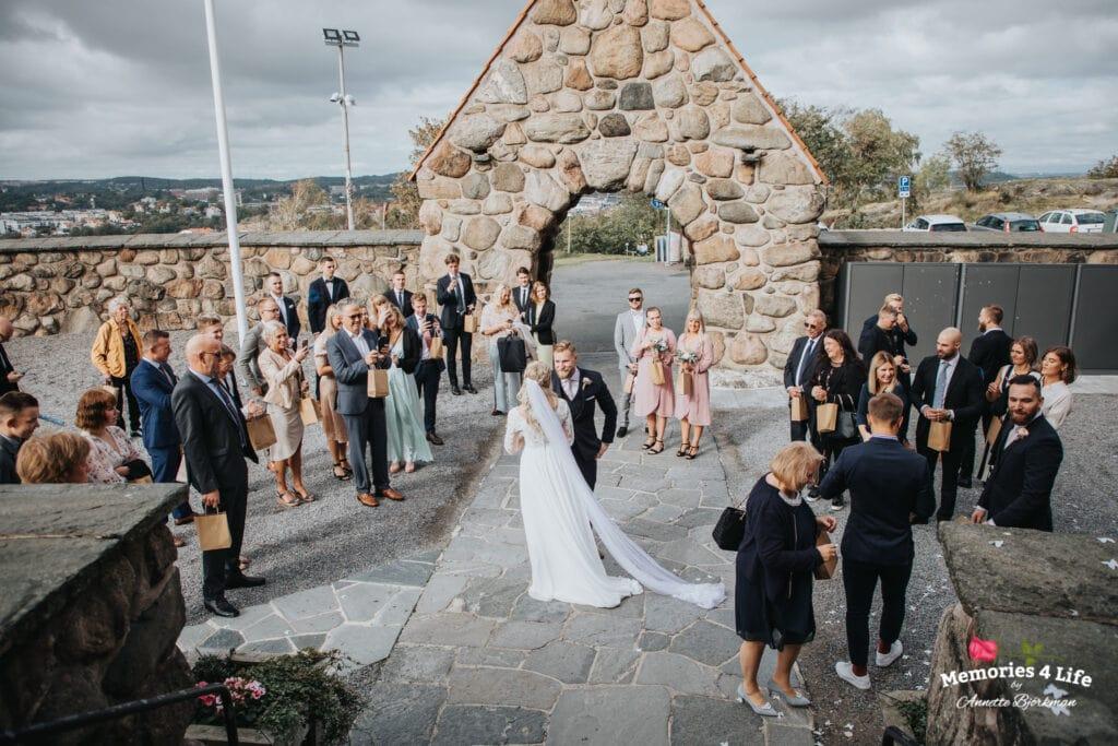 Bröllop i Masthuggskyrkan och fest på Donsö 13