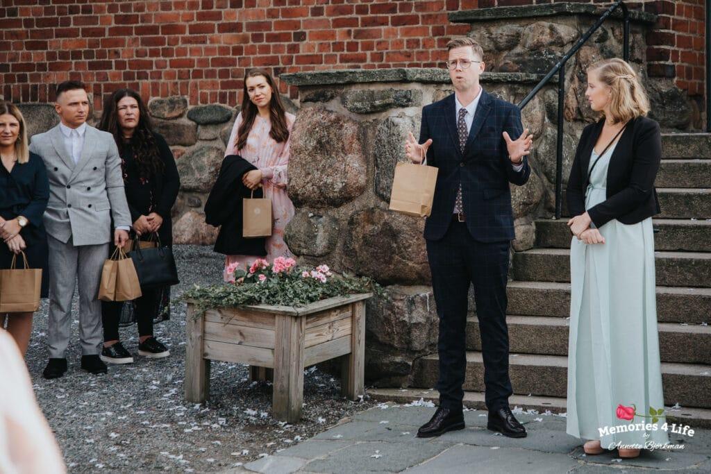 Bröllop i Masthuggskyrkan och fest på Donsö 16