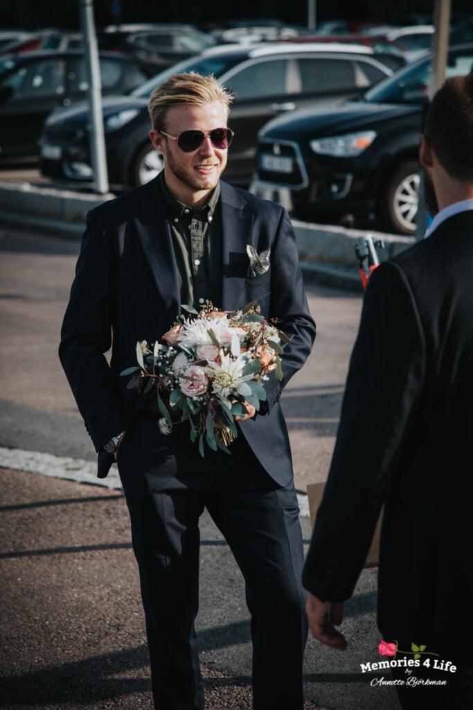 Bröllop i Masthuggskyrkan och fest på Donsö 21