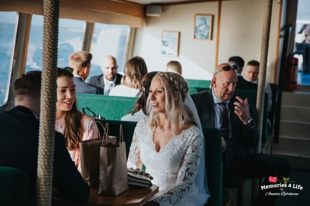 Bröllop i Masthuggskyrkan och fest på Donsö 28