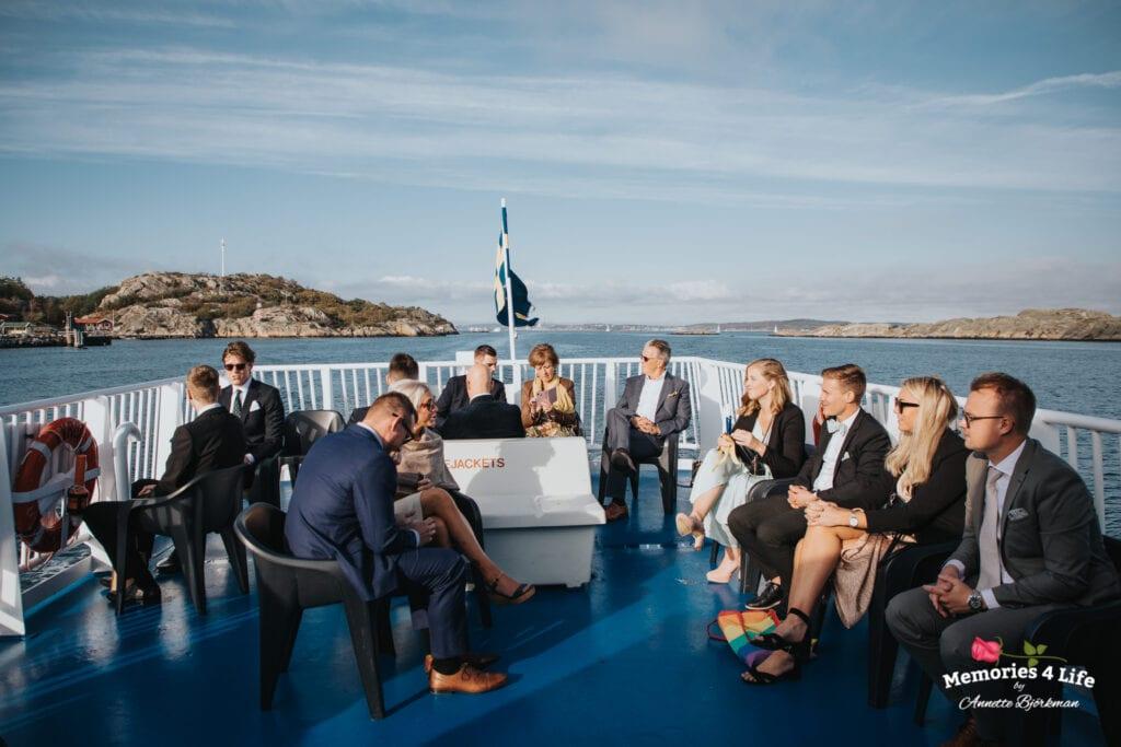 Bröllop i Masthuggskyrkan och fest på Donsö 31