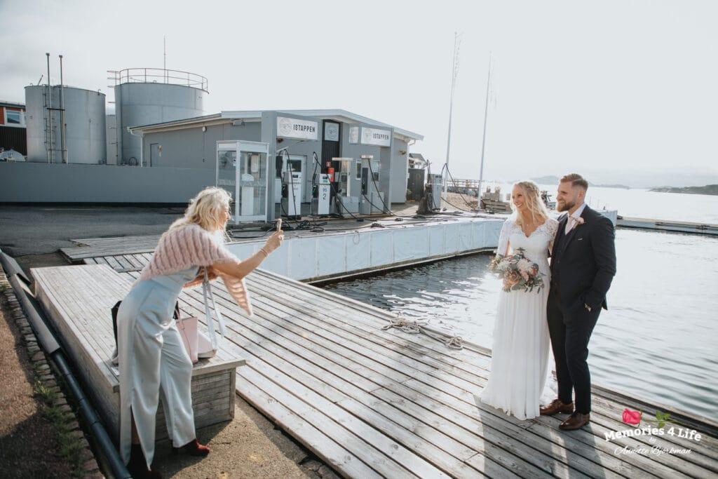 Bröllop i Masthuggskyrkan och fest på Donsö 35