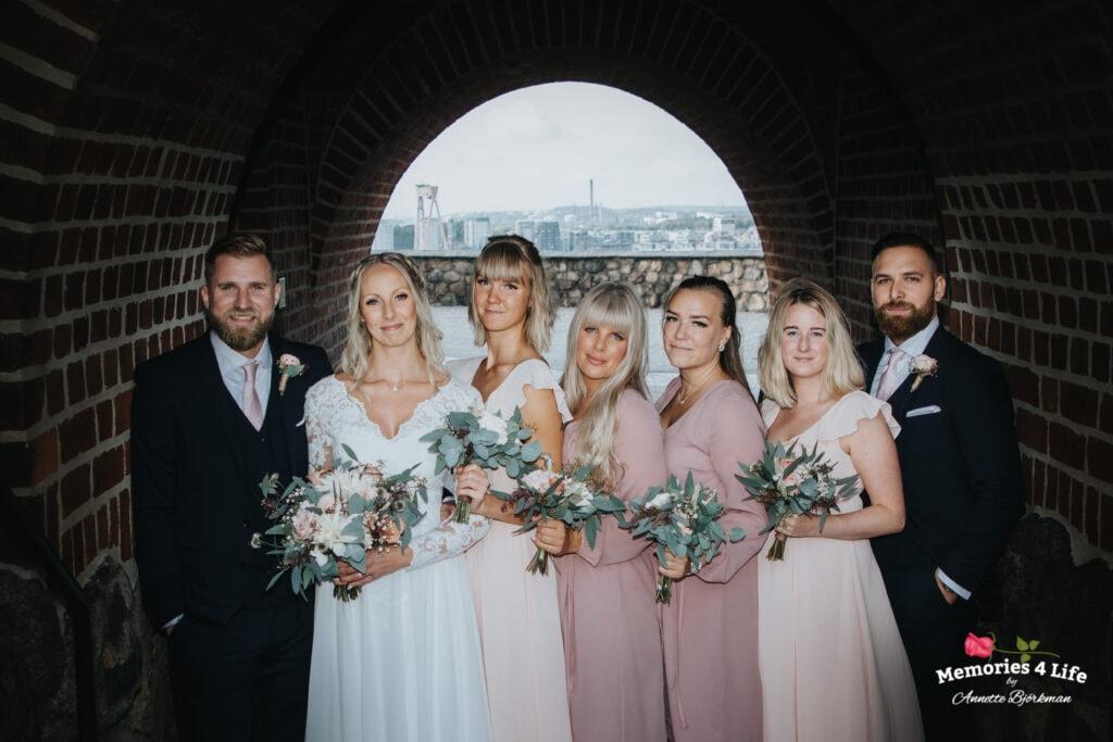 Bröllop i Masthuggskyrkan och fest på Donsö 4
