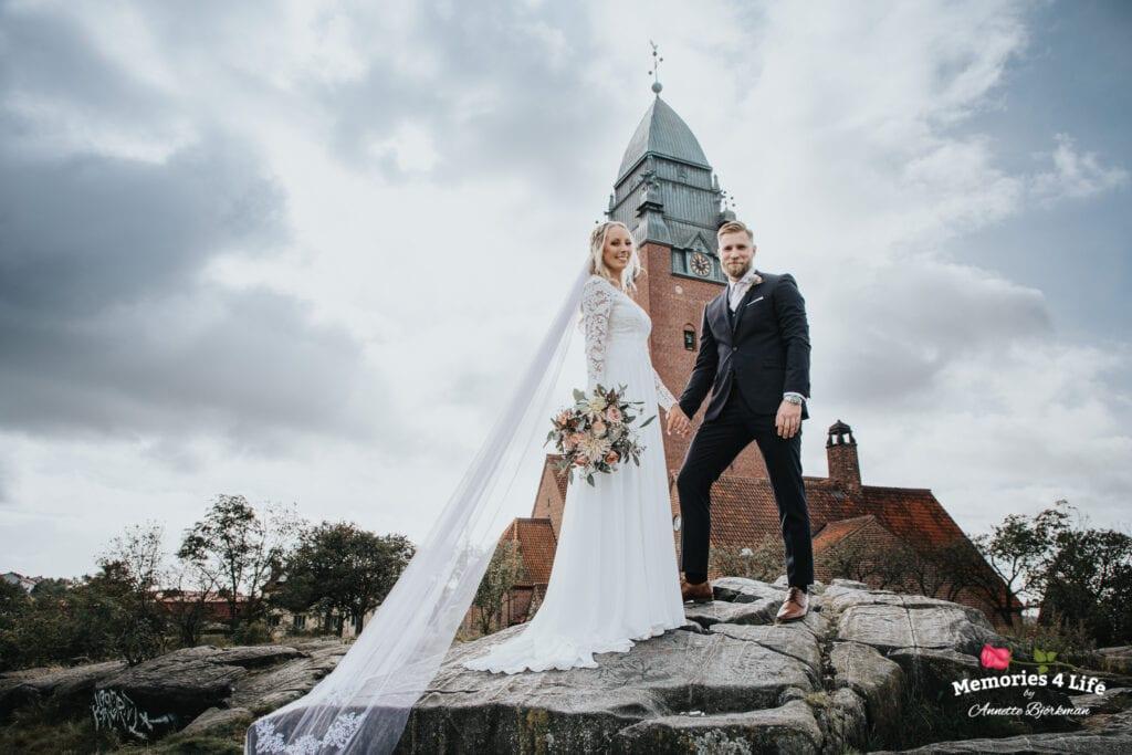 Bröllop i Masthuggskyrkan och fest på Donsö 5