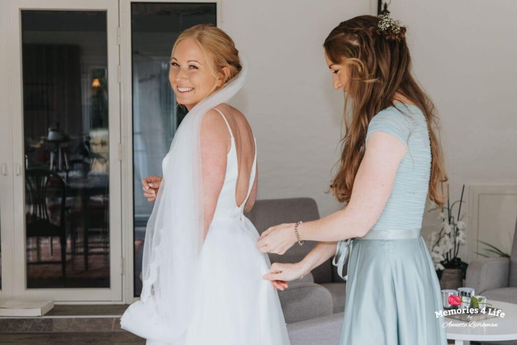Trädgårdsbröllop i Önum 2