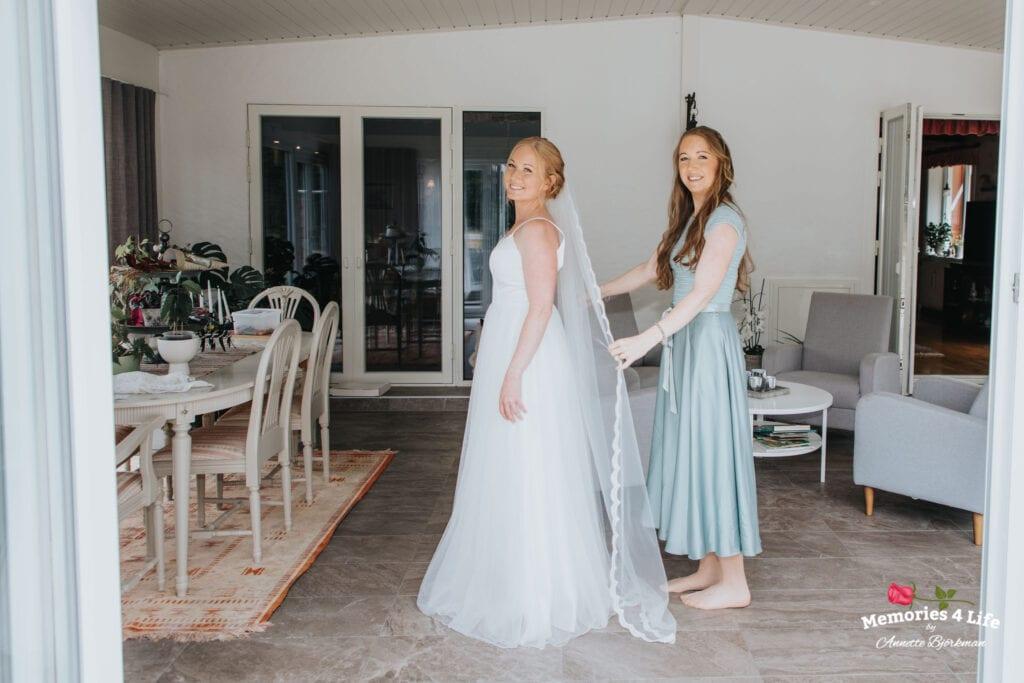 Trädgårdsbröllop i Önum 4