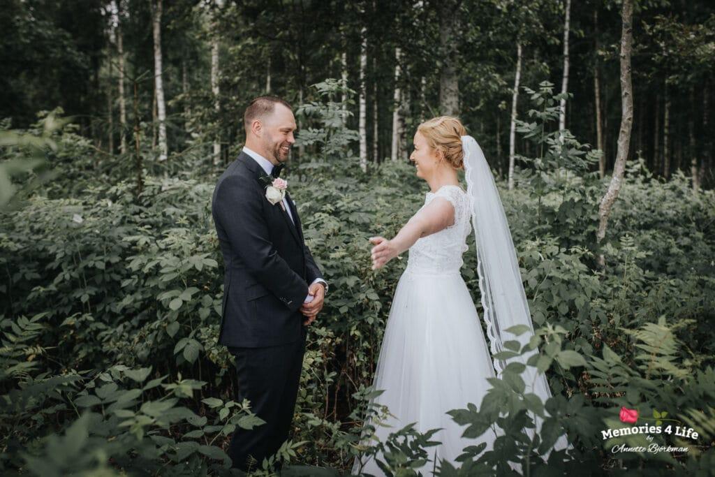 Trädgårdsbröllop i Önum 8