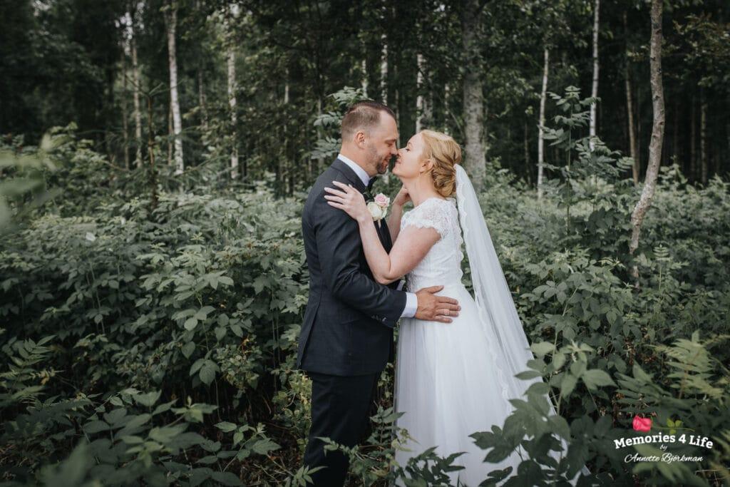Trädgårdsbröllop i Önum 9
