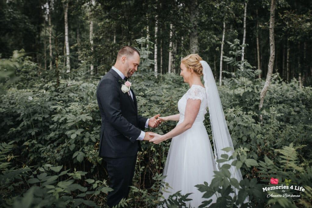 Trädgårdsbröllop i Önum 10