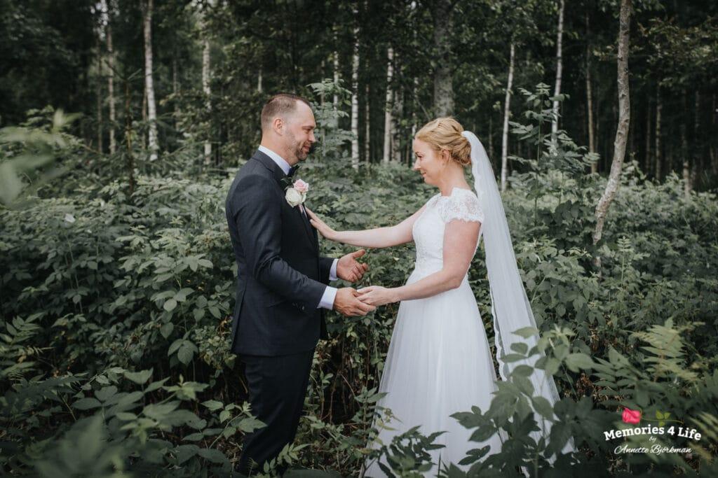 Trädgårdsbröllop i Önum 11