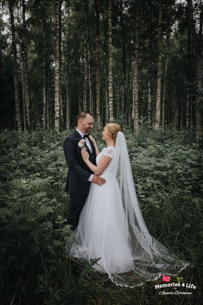 Trädgårdsbröllop i Önum 12