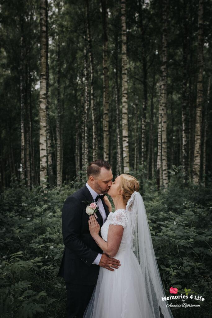 Trädgårdsbröllop i Önum 13