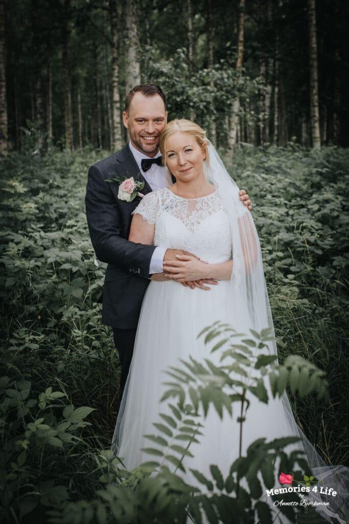 Trädgårdsbröllop i Önum 15