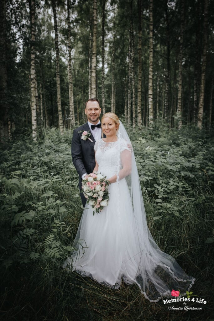Trädgårdsbröllop i Önum 17