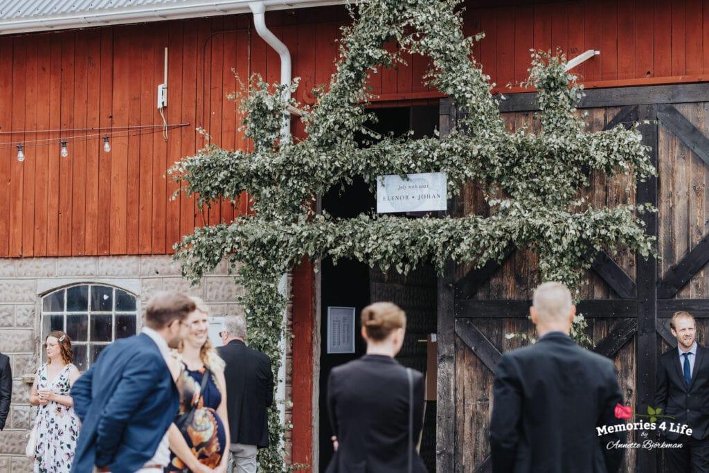 Trädgårdsbröllop i Önum 19