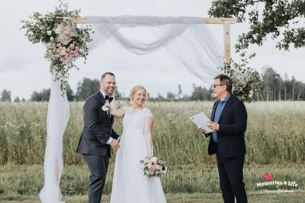 Trädgårdsbröllop i Önum 23