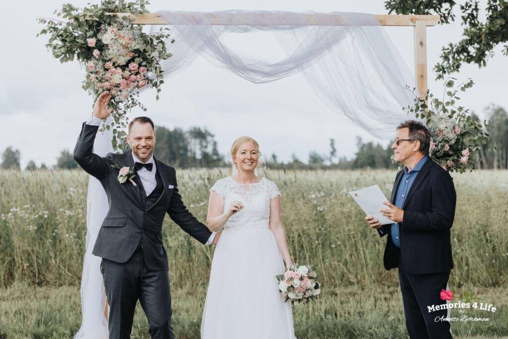 Trädgårdsbröllop i Önum 25
