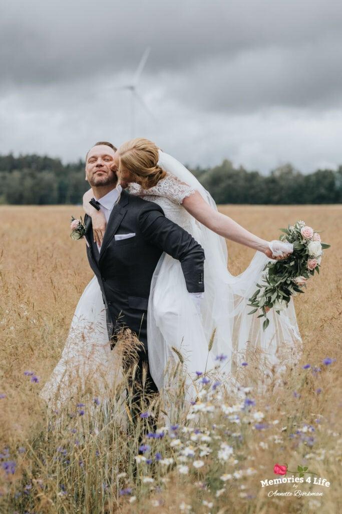 Trädgårdsbröllop i Önum 26